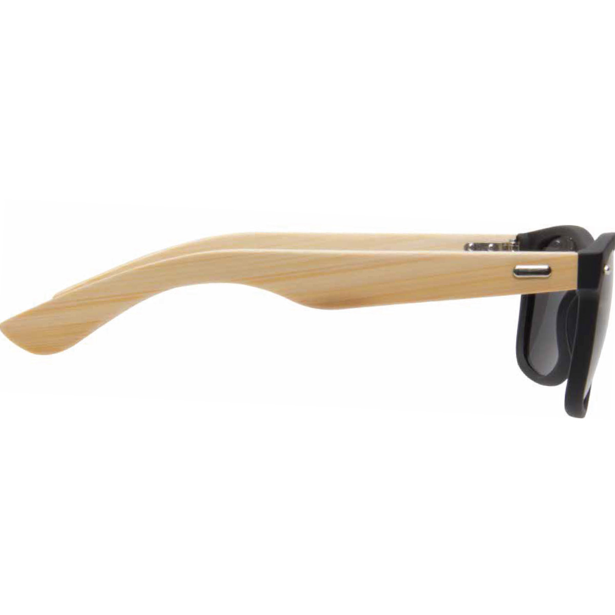 Black Wooden Bamboo Sunglasses