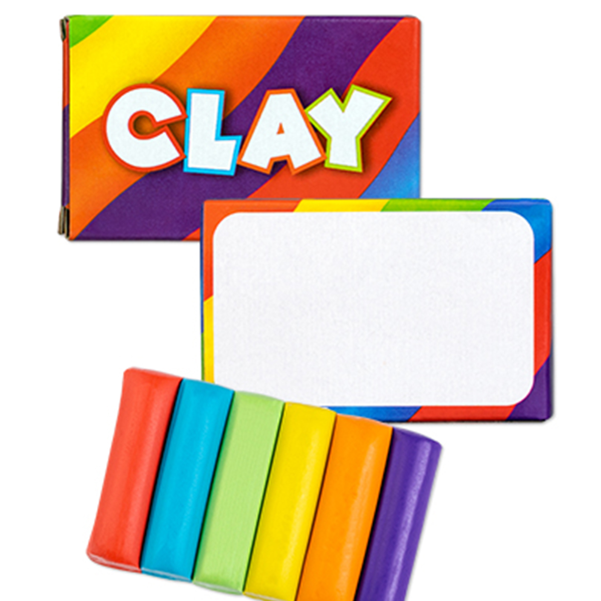 Assorted 6 Pack Molding Clay