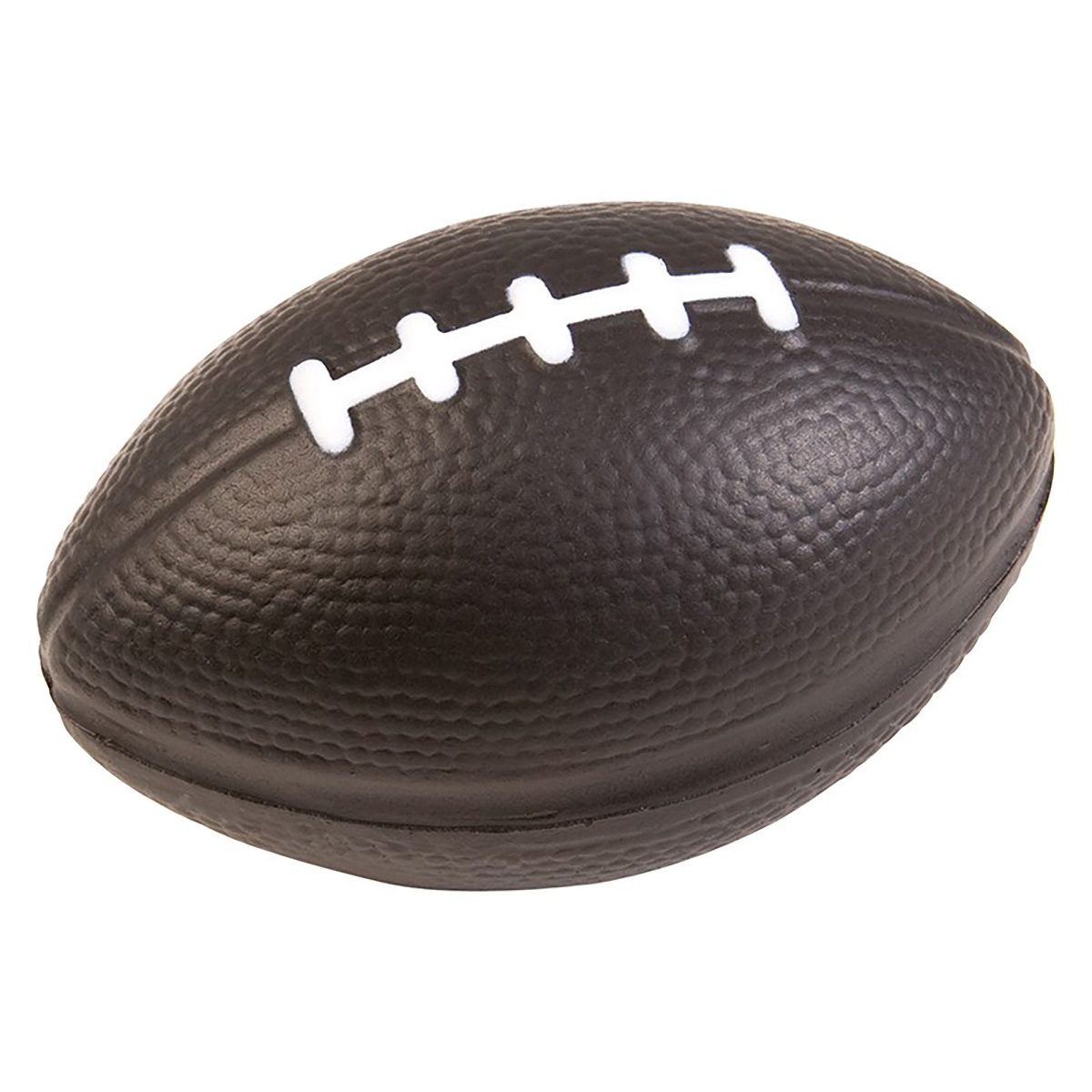 """Black 3"""" Football Stress Reliever (Small)"""