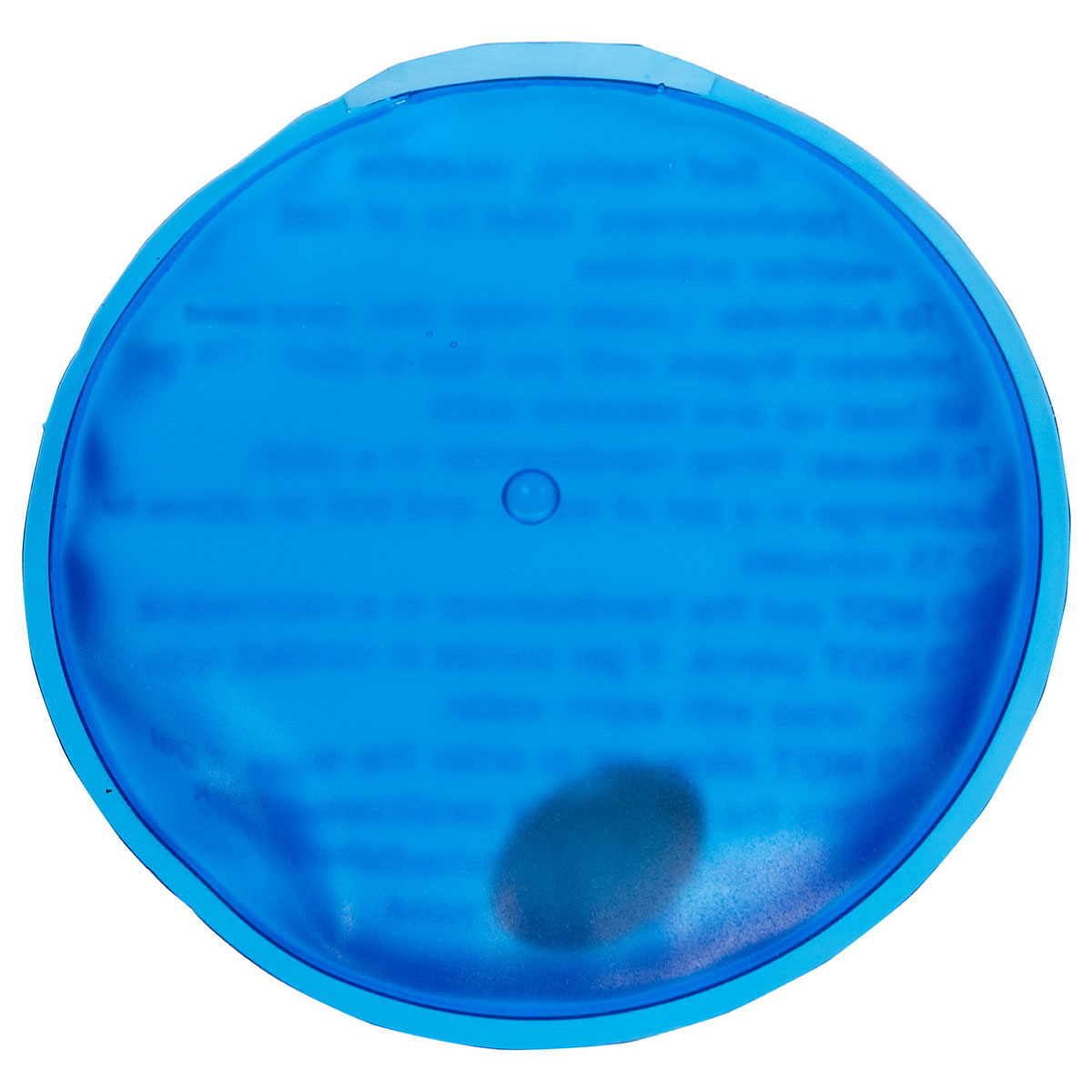 Blue Reusable Magic Hand Warmer Round