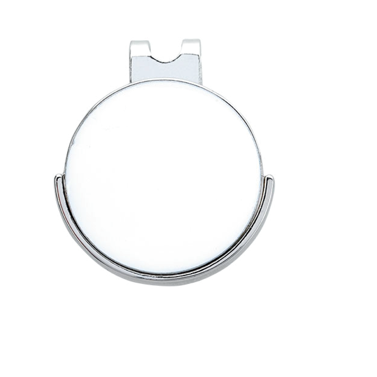 1 Color 1 Location Golfers Ball Marker Hat Clip