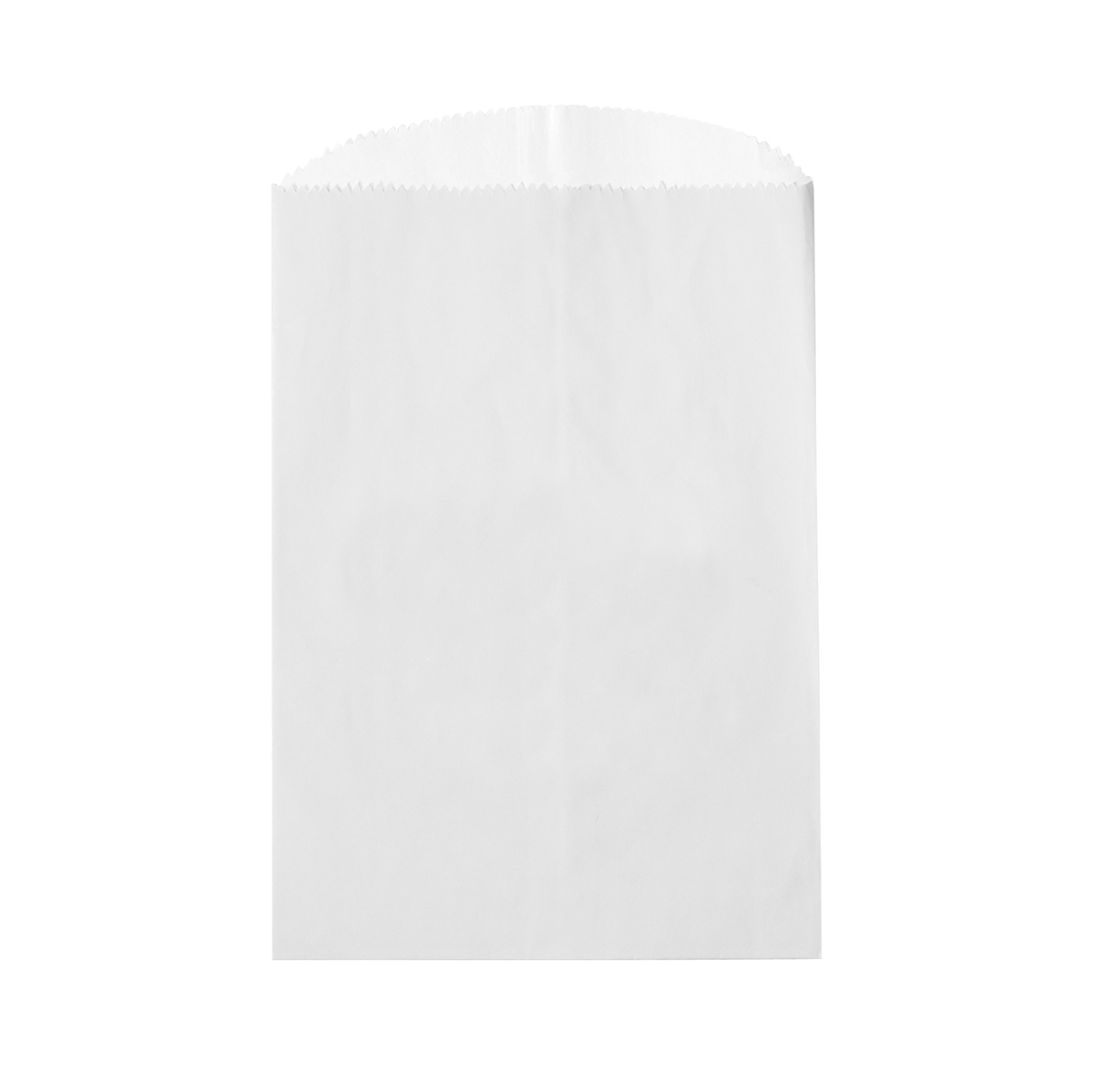 """White Unlined Paper Gourmet Cookie, Candy, & Nut Bag (4 3/4""""x6 3/4"""")"""