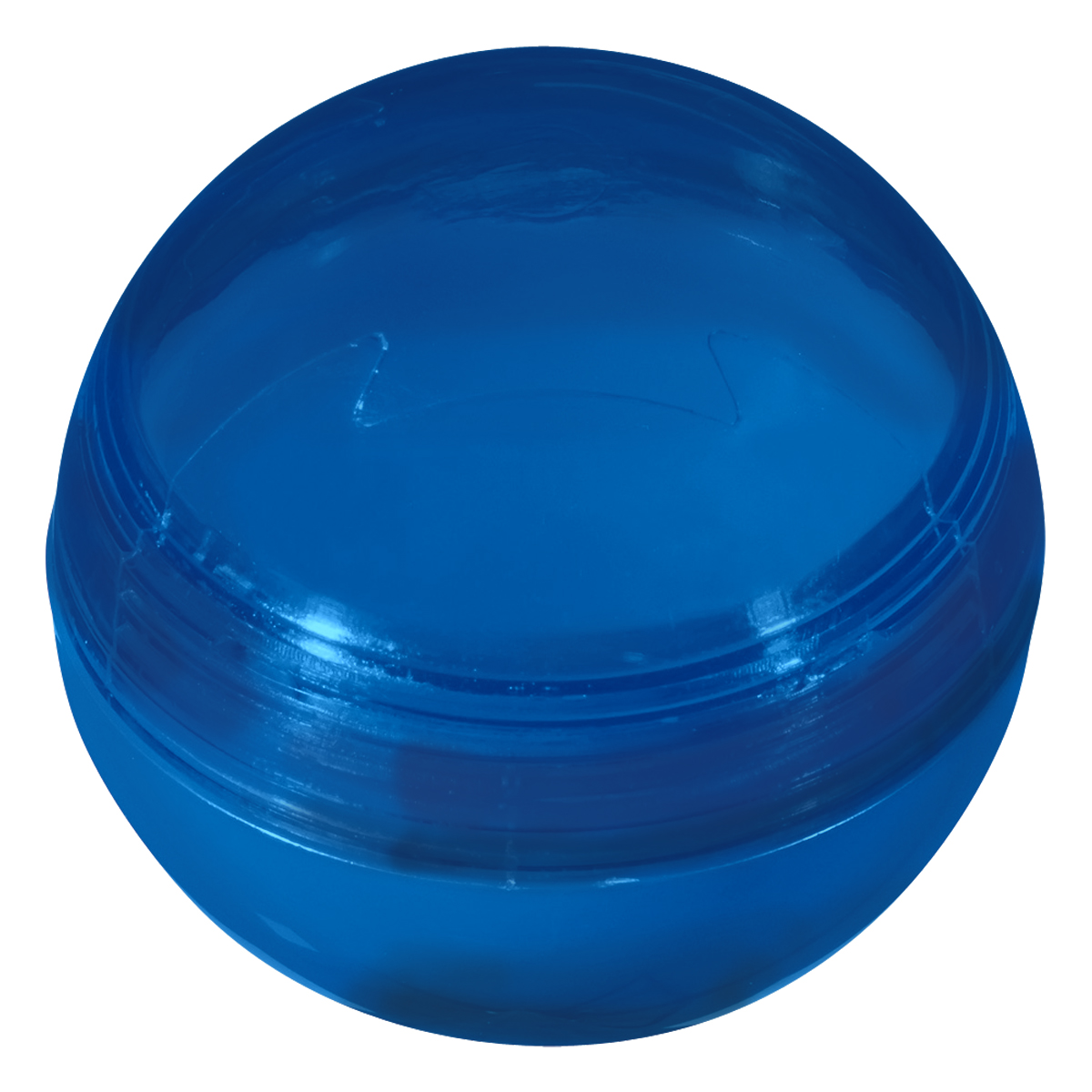 Translucent Blue Lip Gloss Ball