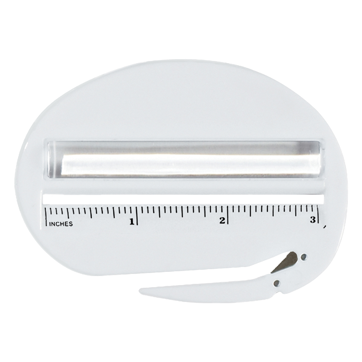 Solid White 3 in 1 Letter Openers
