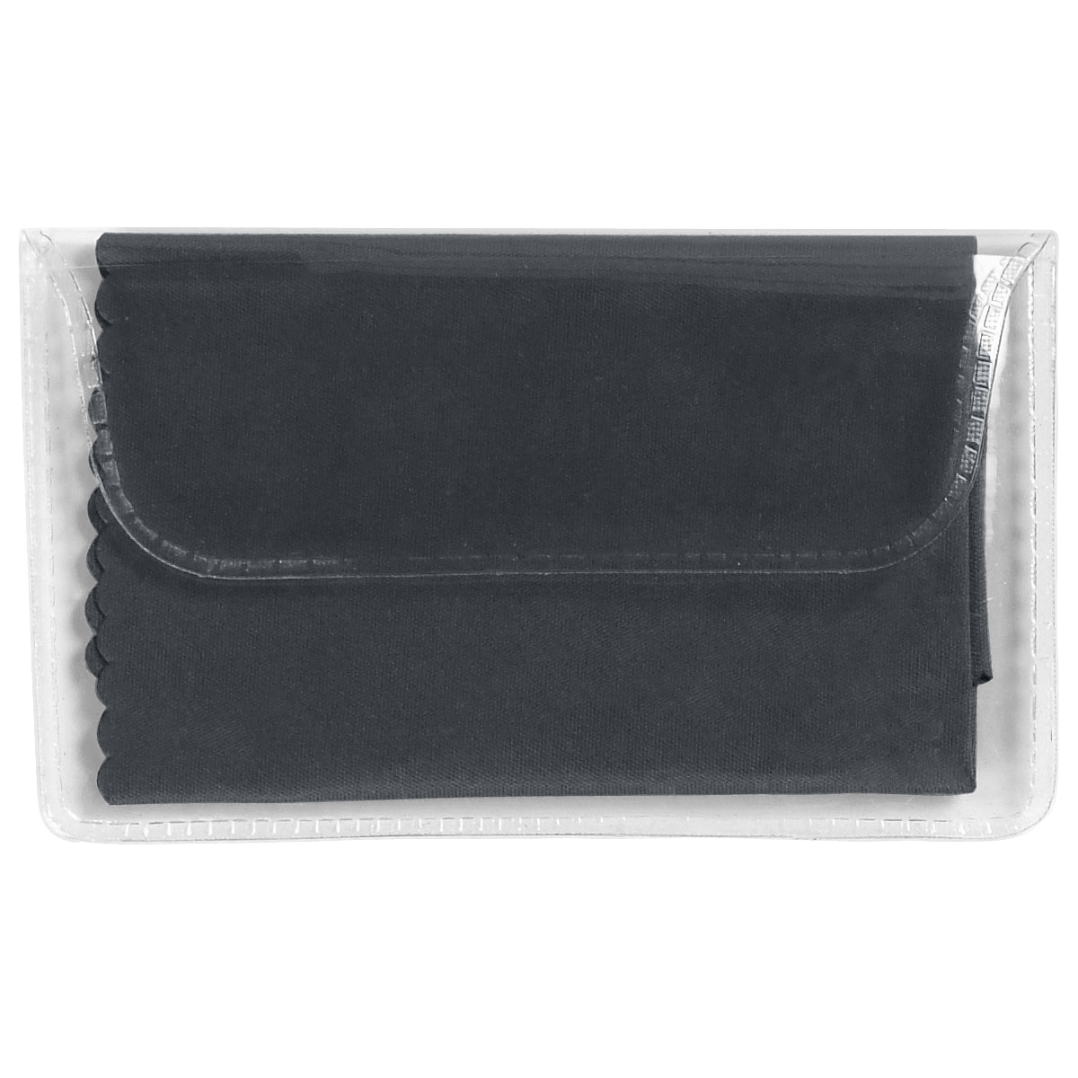 Black Microfiber Cleaning Cloth In Case