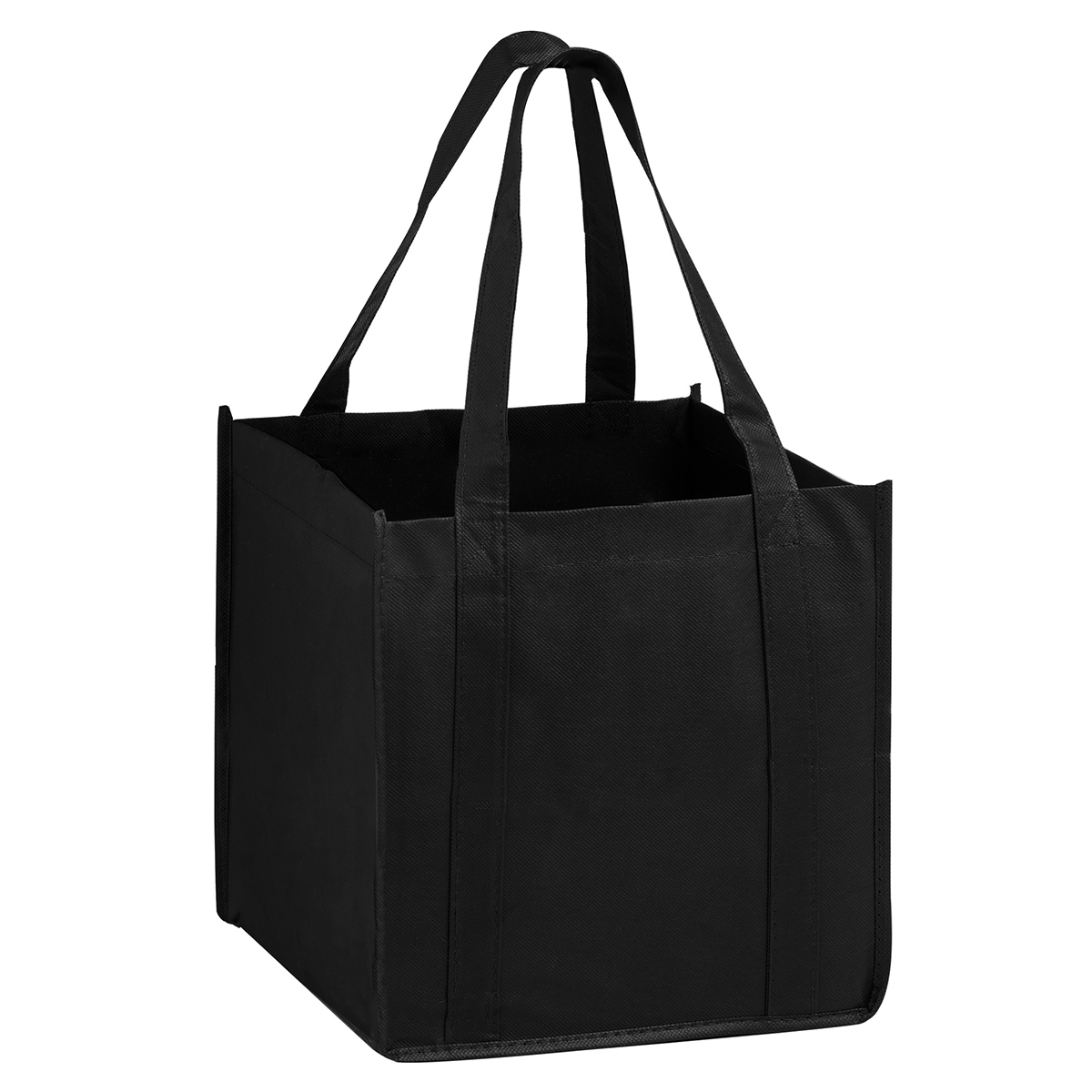 "Black The Cube Tote (10""W x 10""G x 10""H)"
