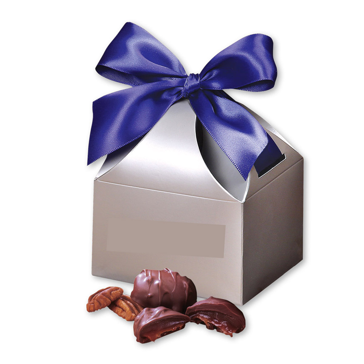 Copper Pecan Turtles in Gift Box