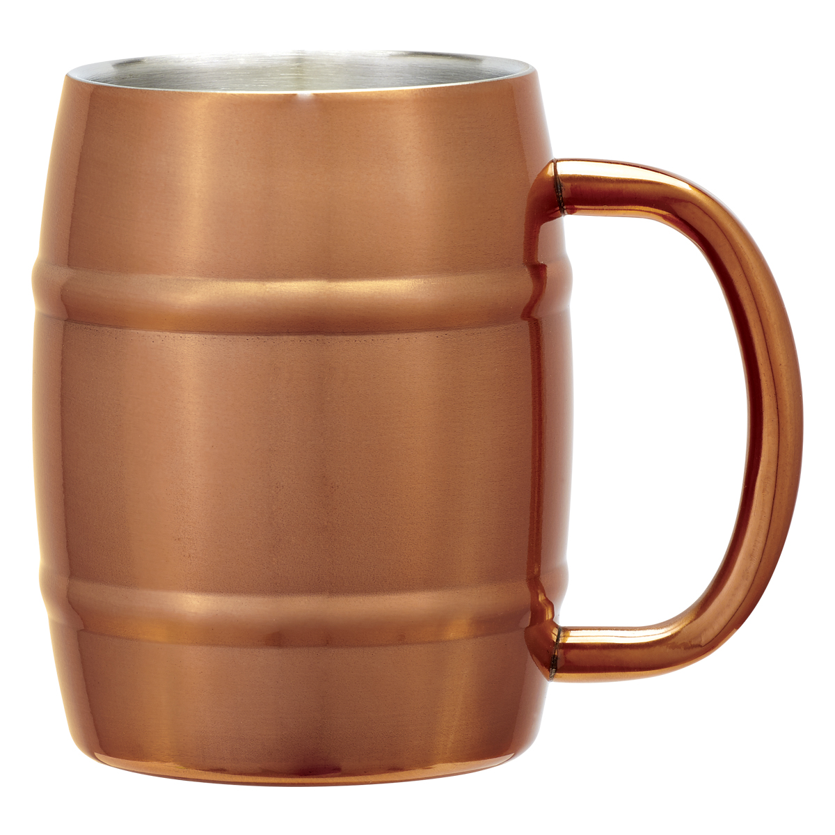 Copper Moscow Mule Barrel Mug (14oz)