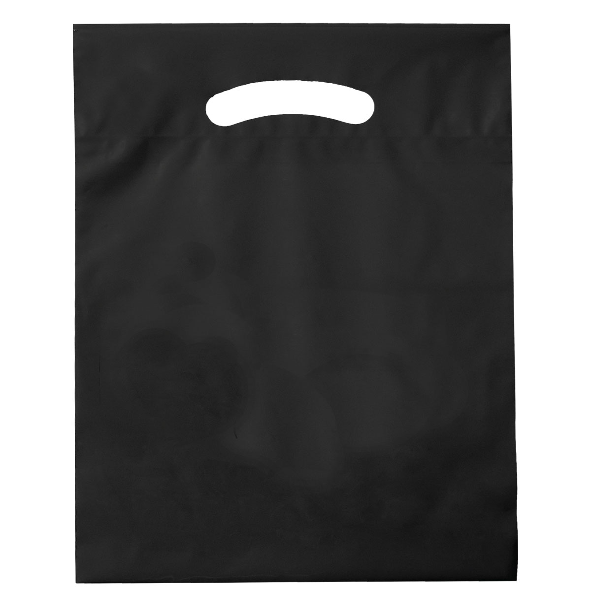 "Black Die Cut Bags (9""W x 13""H)"