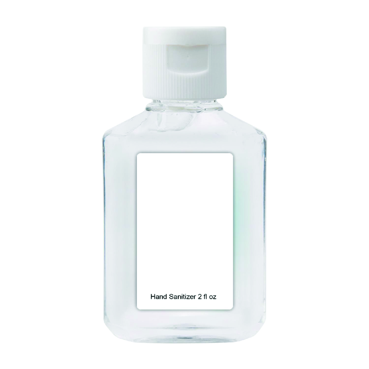 Clear Travel Hand Sanitizer 2 oz