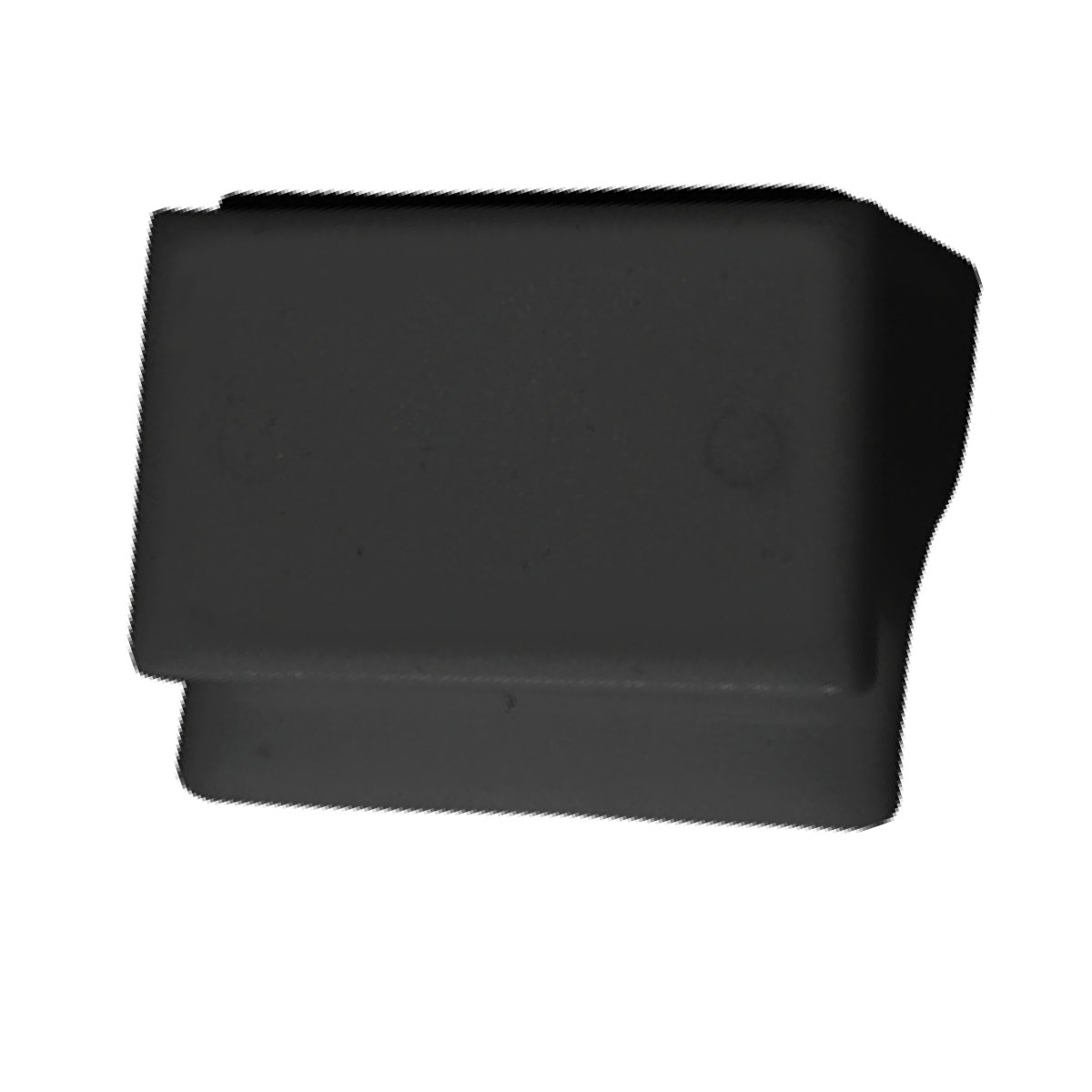 Black Privacy Cover with Screen Cleaner
