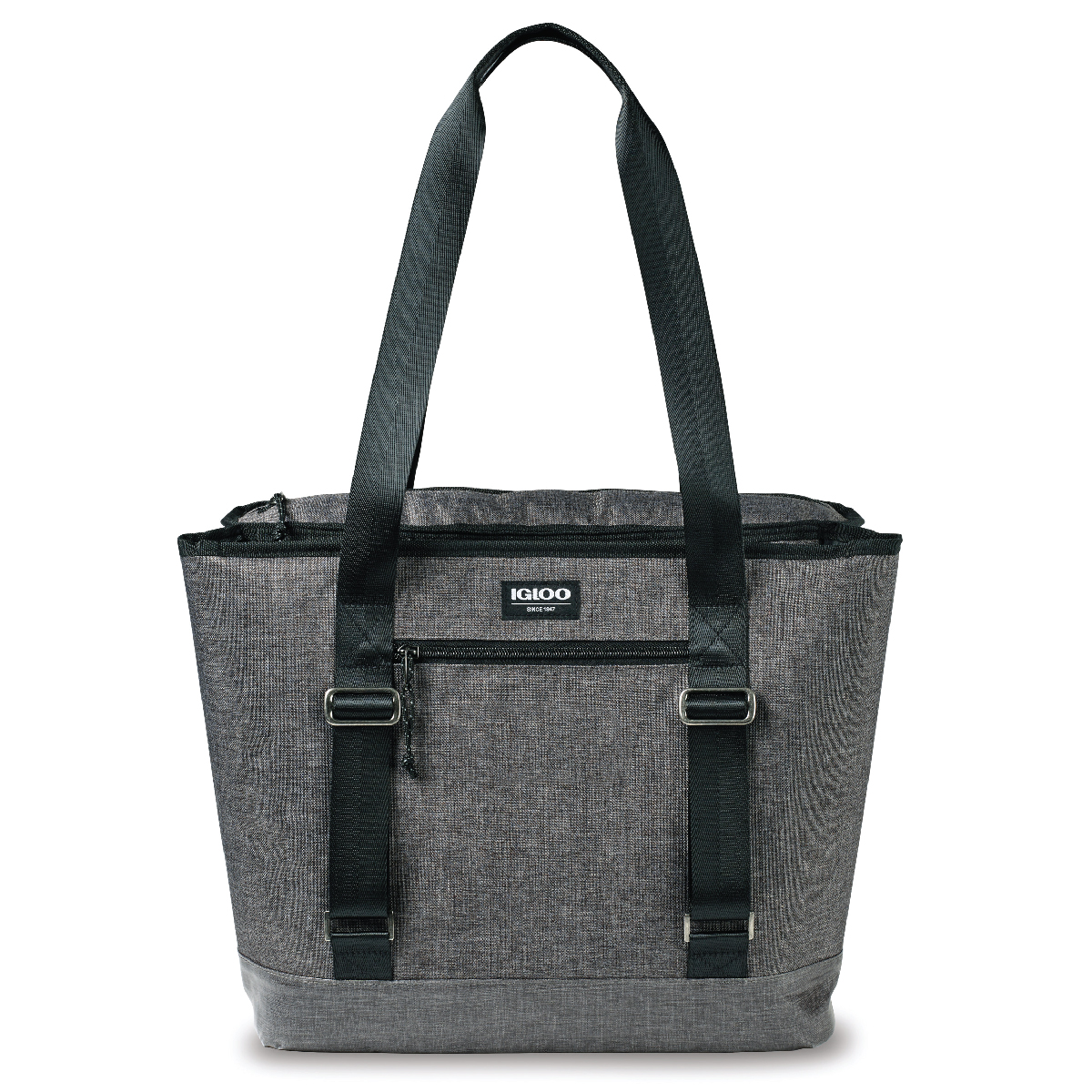 Heather Gray Igloo® Daytripper Dual Compartment Tote Cooler