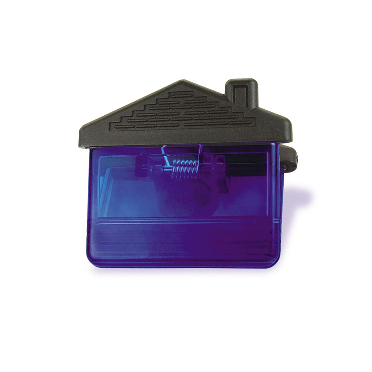 Translucent Blue House Magnetic Clip