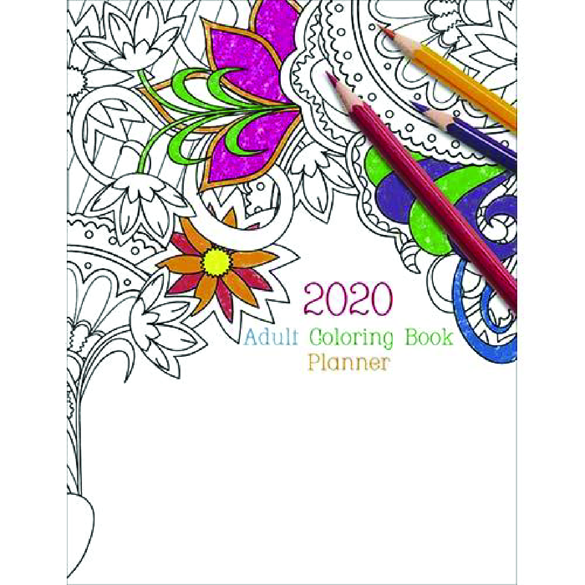 Multi Adult Coloring Book Planner