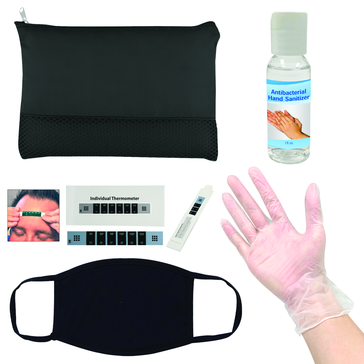 Black At the Office PPE Kit
