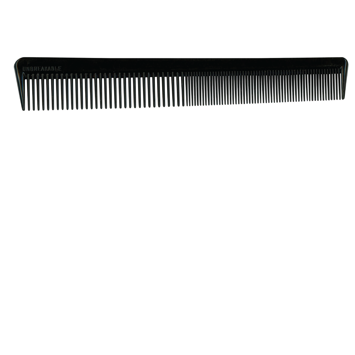 """Black 7"""" Unbreakable Styling Comb"""