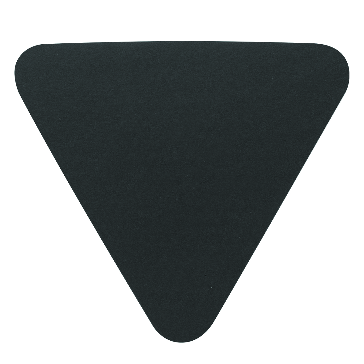 Black Triangle Shaped Sticky Notes Pad