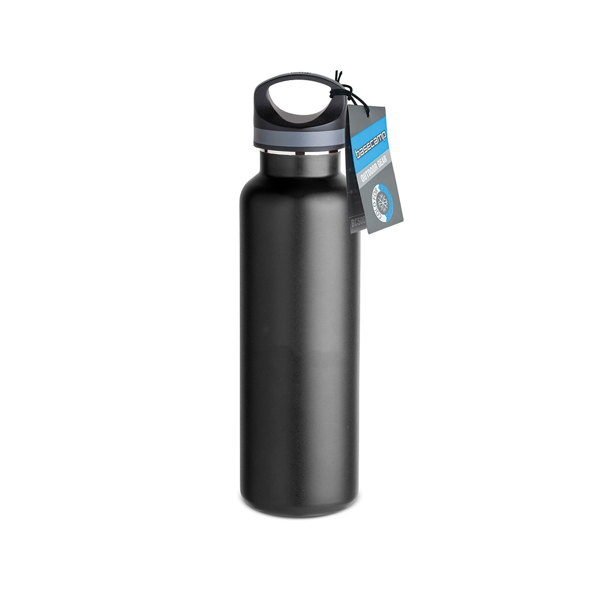 Black Basecamp® Tundra Bottle (20oz)