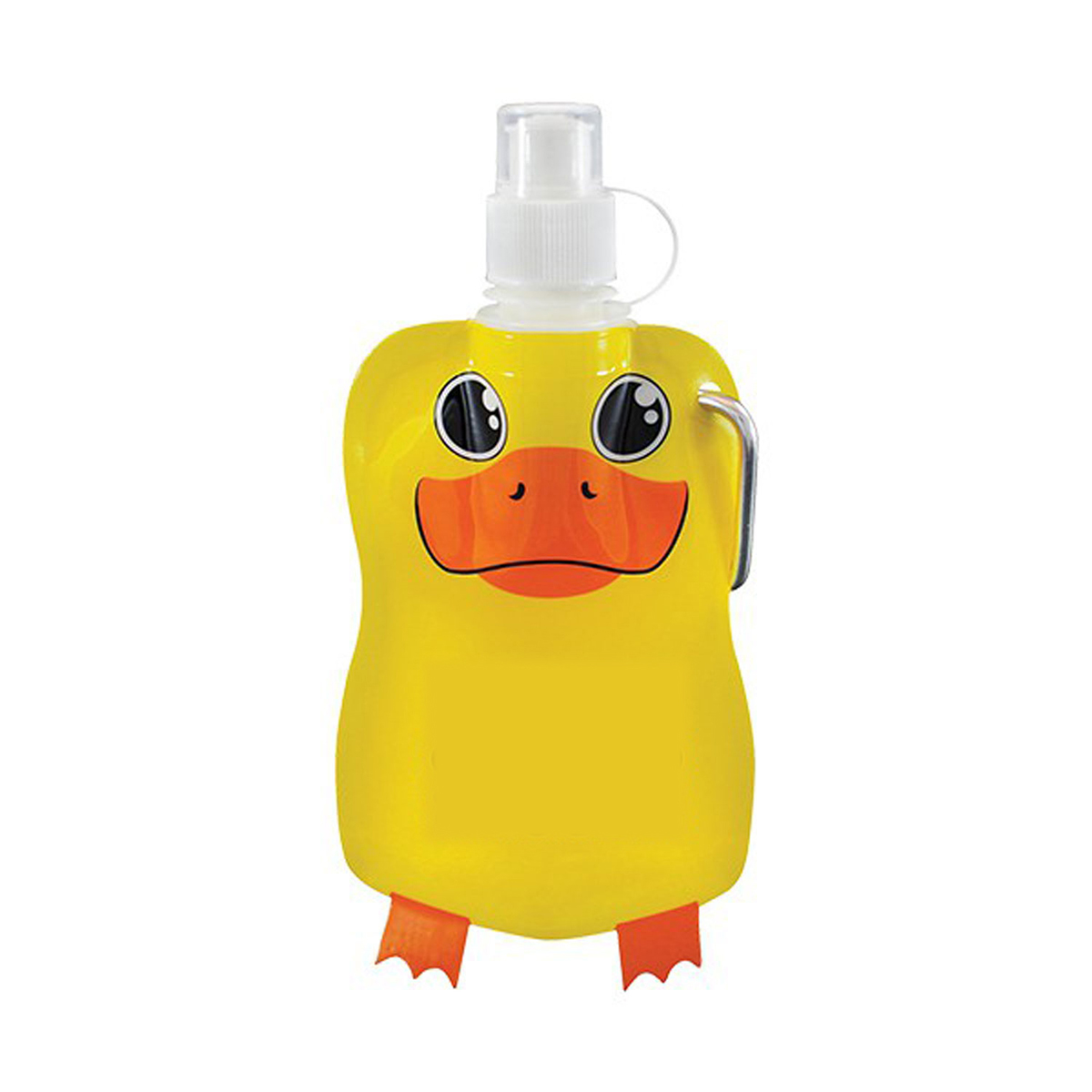 Duck Paws N Claws Flat Bottle (12 oz)