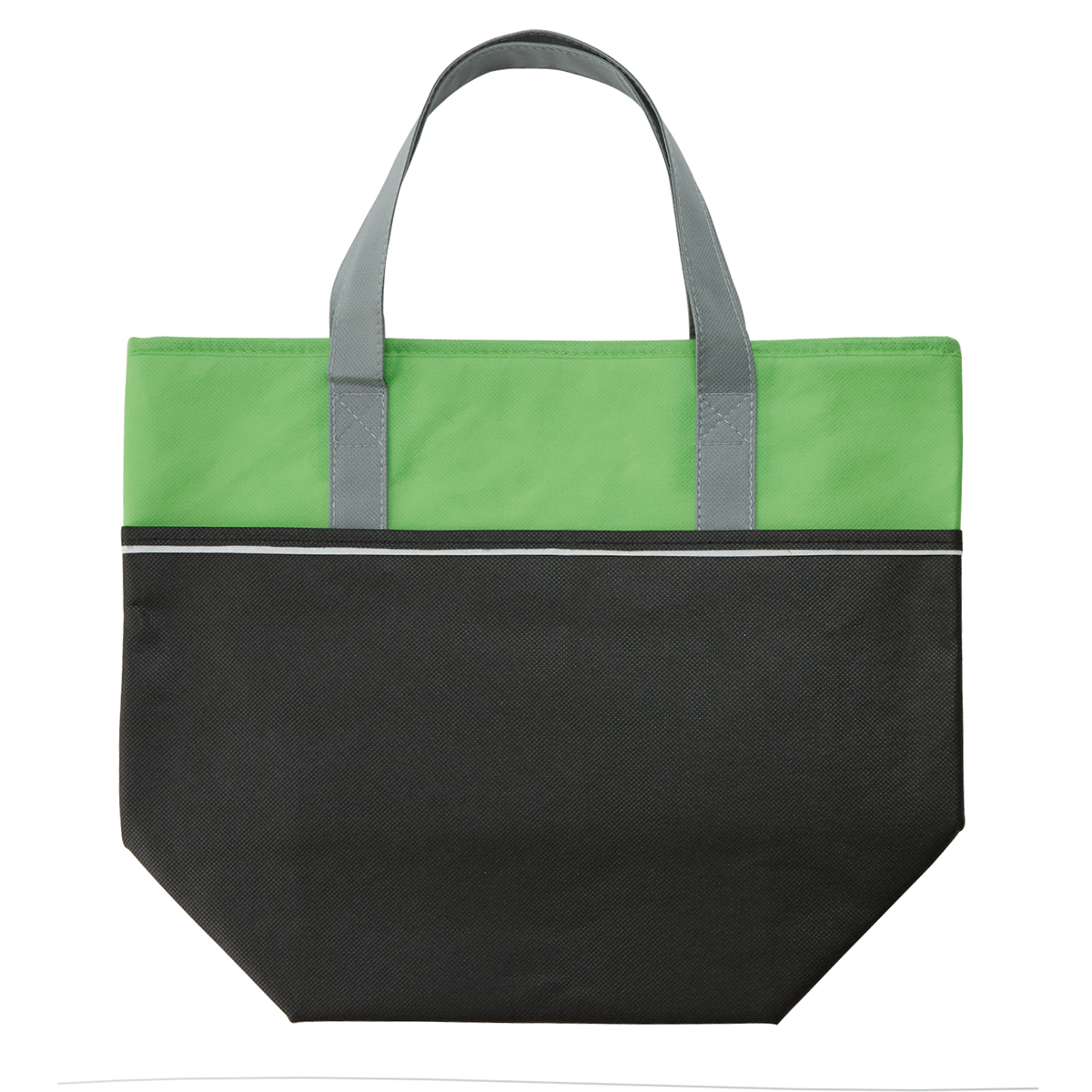 Lime Large Non-Woven Carry-It™ Cooler Tote