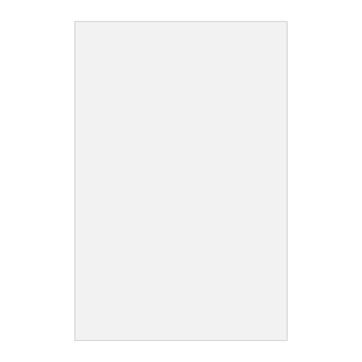 """White 4"""" x 6"""" Adhesive Sticky Notepad - 25 Sheets"""
