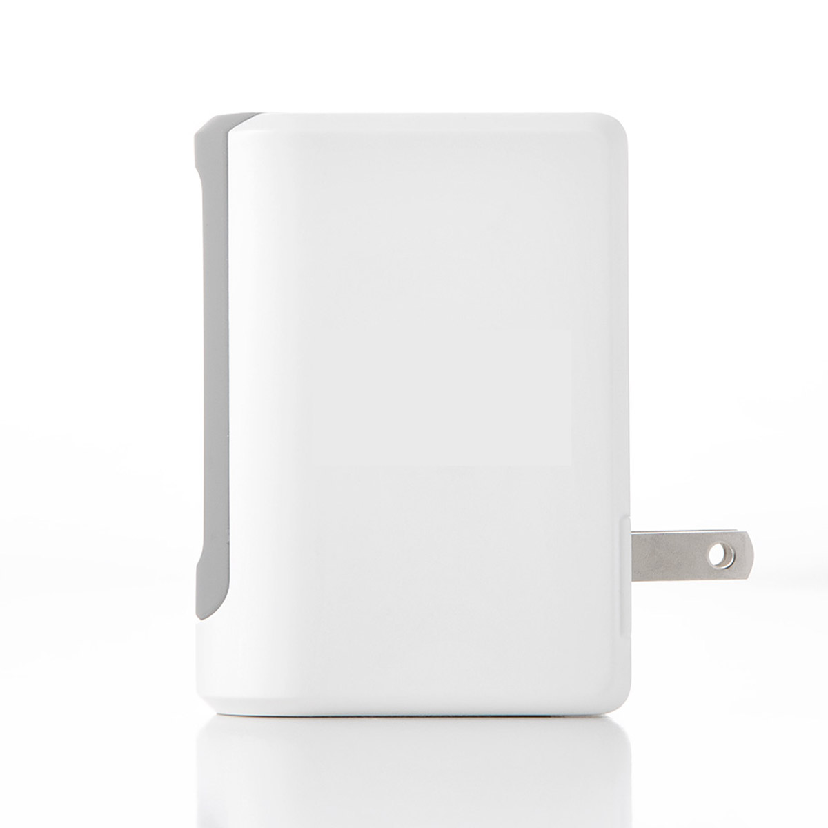 White UL Listed 4.8 Amp Wall Charger w/ Four USB Ports