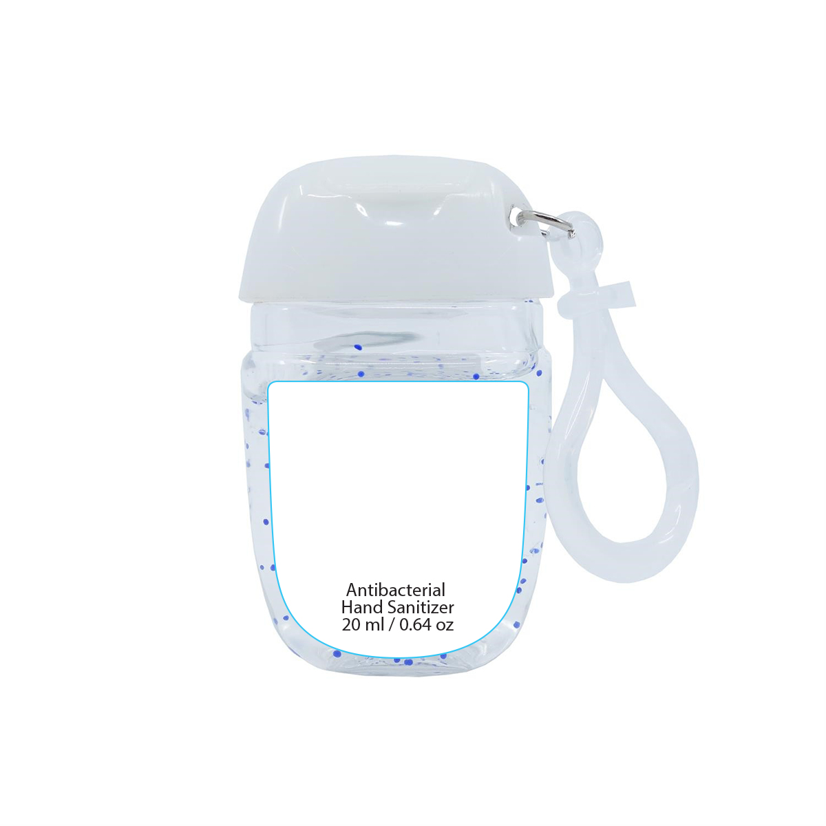 Clear/Citrus Hand Sanitizer with Clip