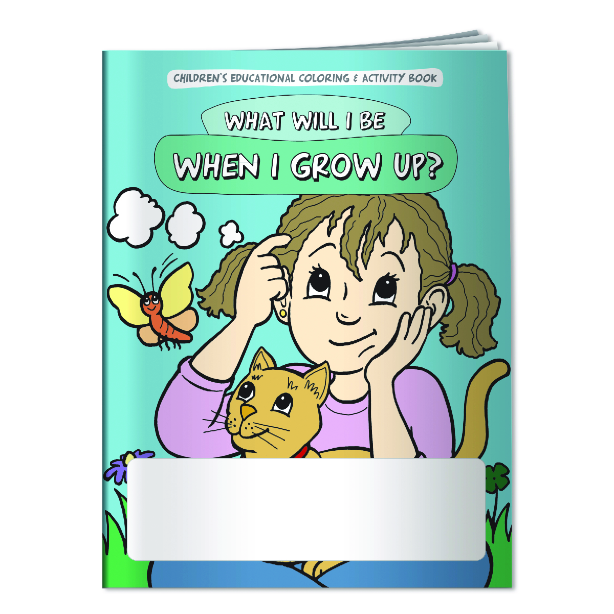 Multi Coloring Book: What Will I Be When I Grow Up?