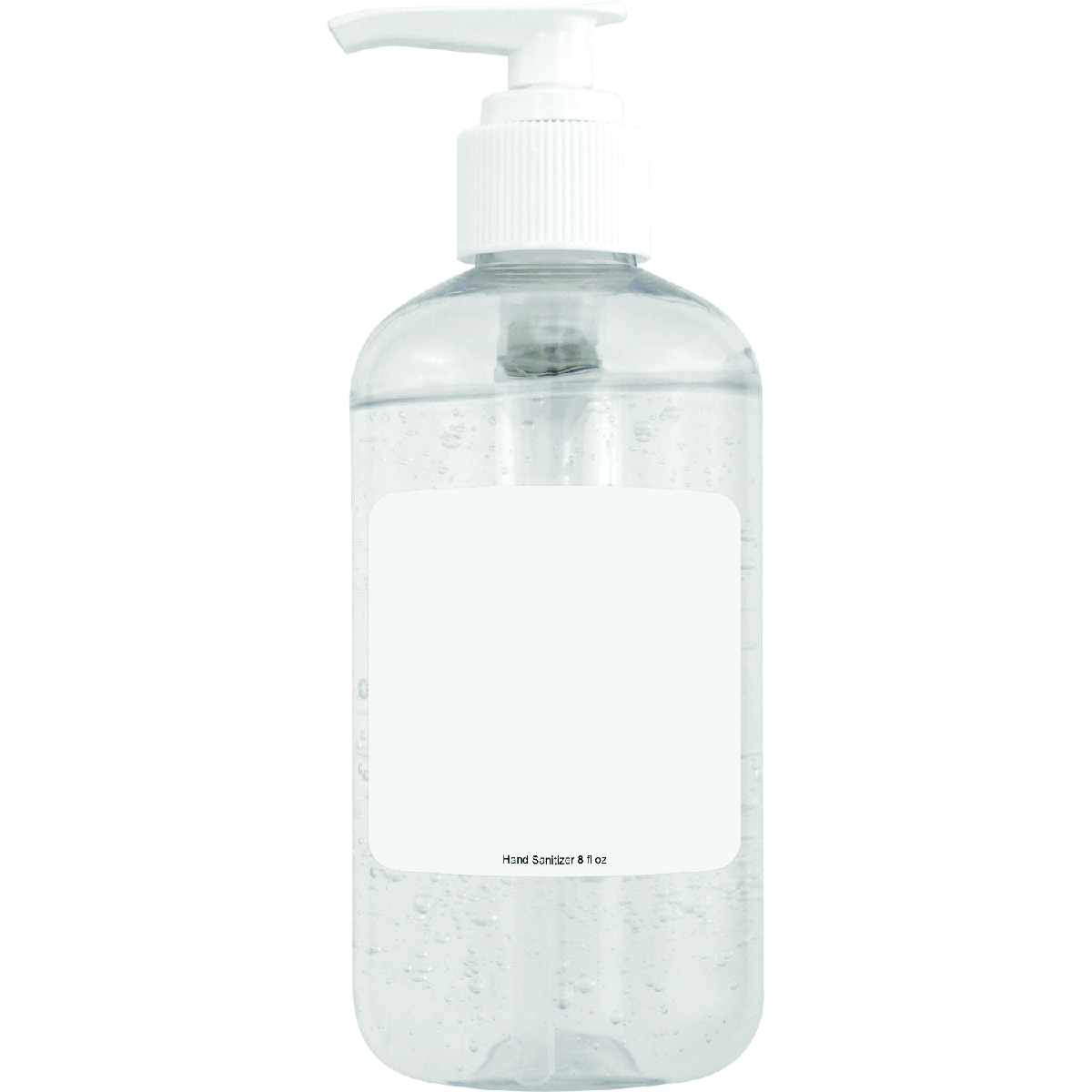 Clear Pump Hand Sanitizer 8 oz / 12 Day Lead Time***