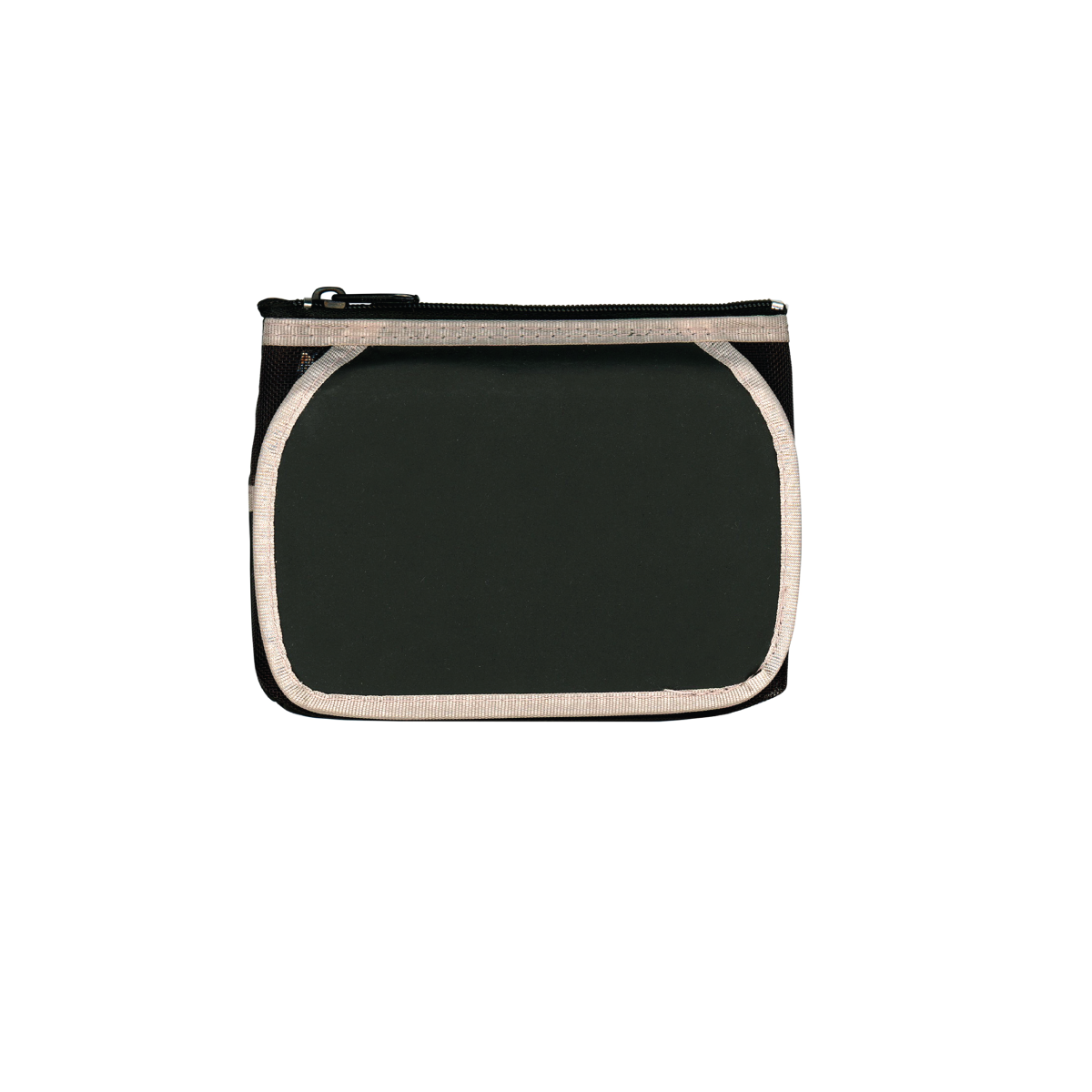 Black The Triplette Cosmetic Pouch