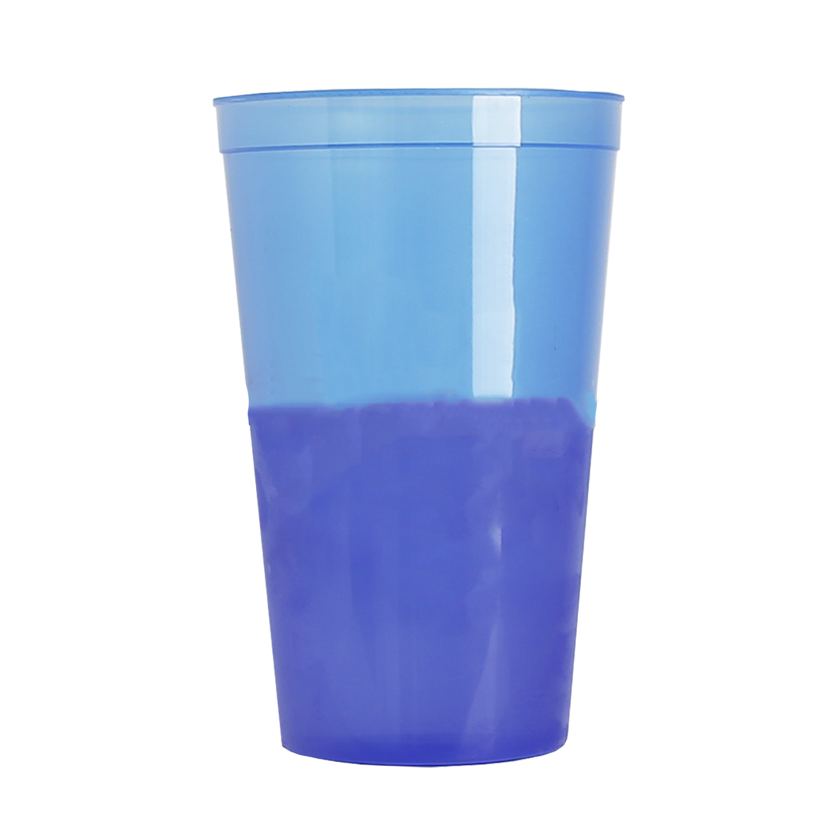 Blue to Violet On-The-Go Cool Color Changing Tumbler (22 oz)