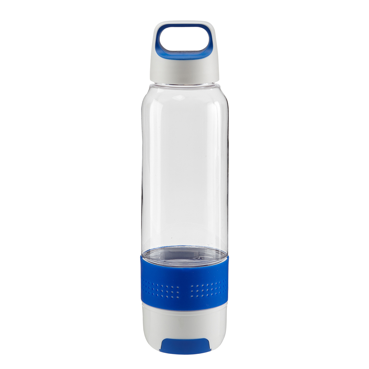 Clear Hydra Chill Water Bottle w/Cooling Towel