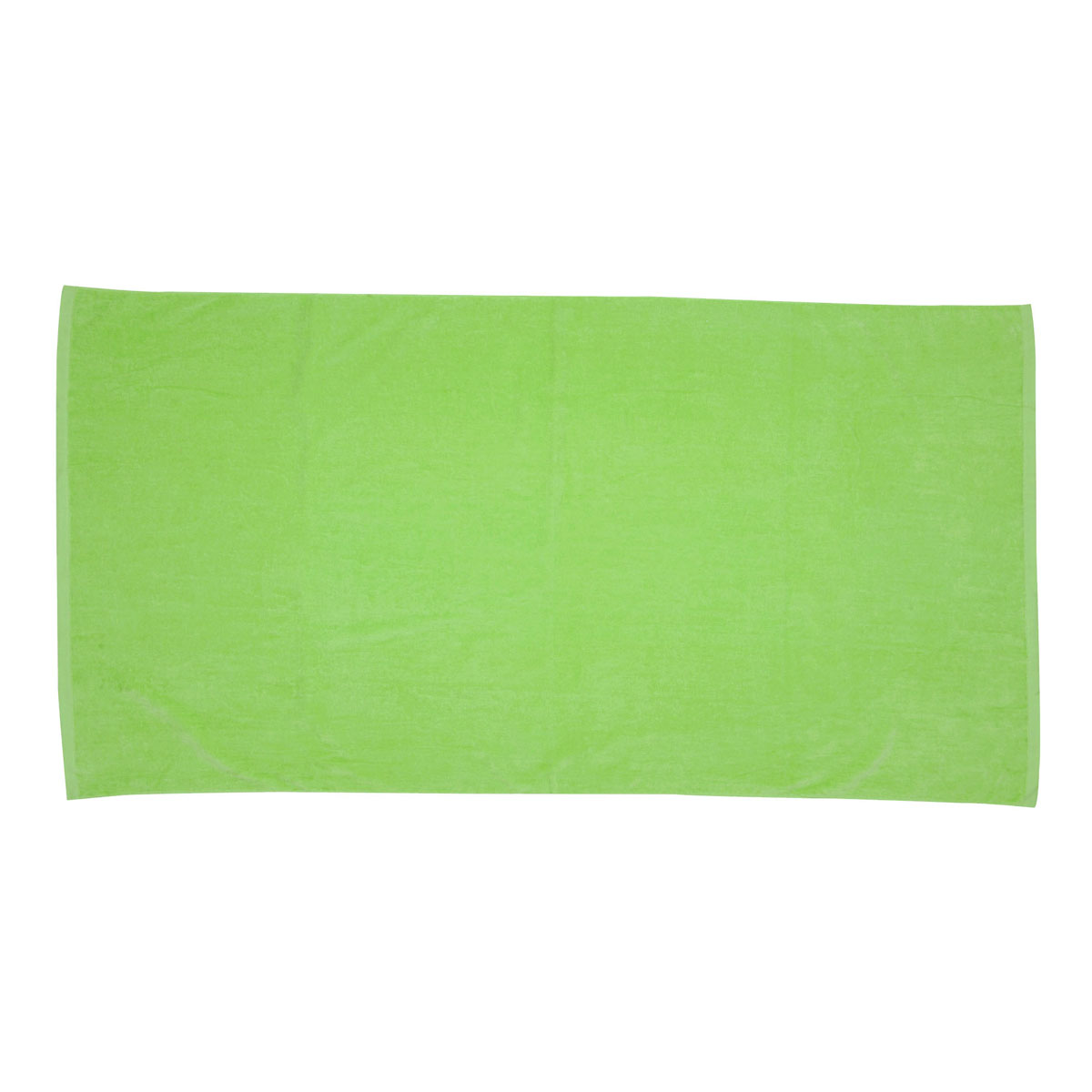Apple Green Jewel Collection Colored Beach Towel