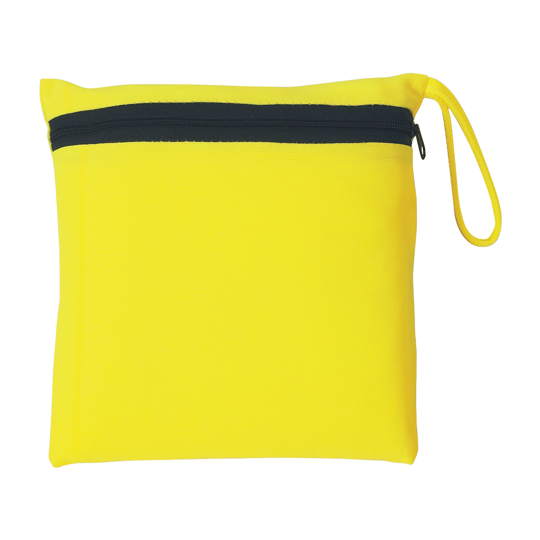 Neon Yellow Reflective Safety Vest