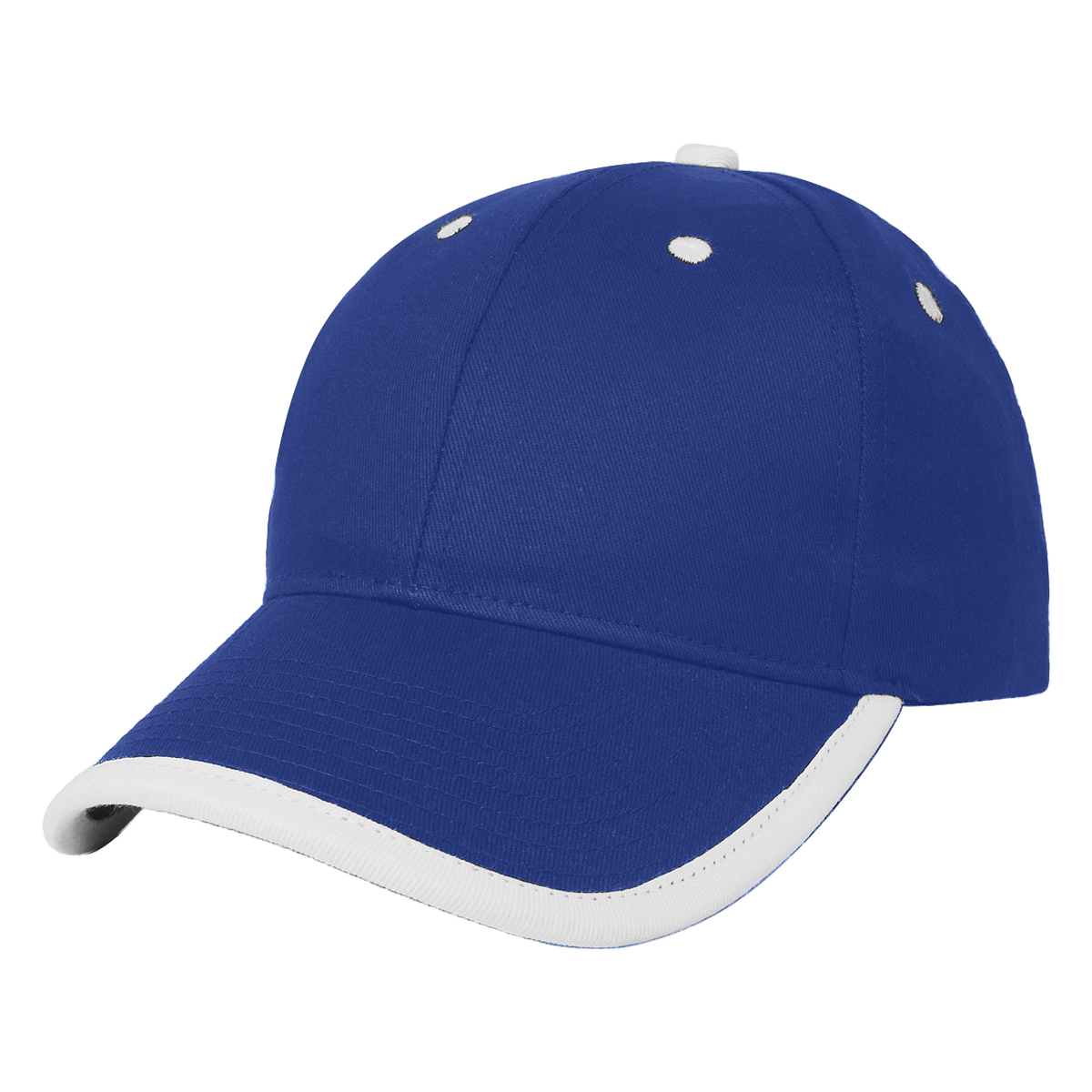 Royal w/ White Accents Price Buster Cap with Visor Trim