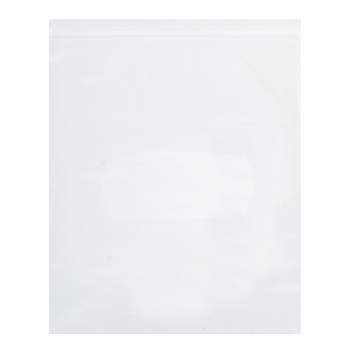 "Clear Zip-Tight Bag (12""W x 15""H)"