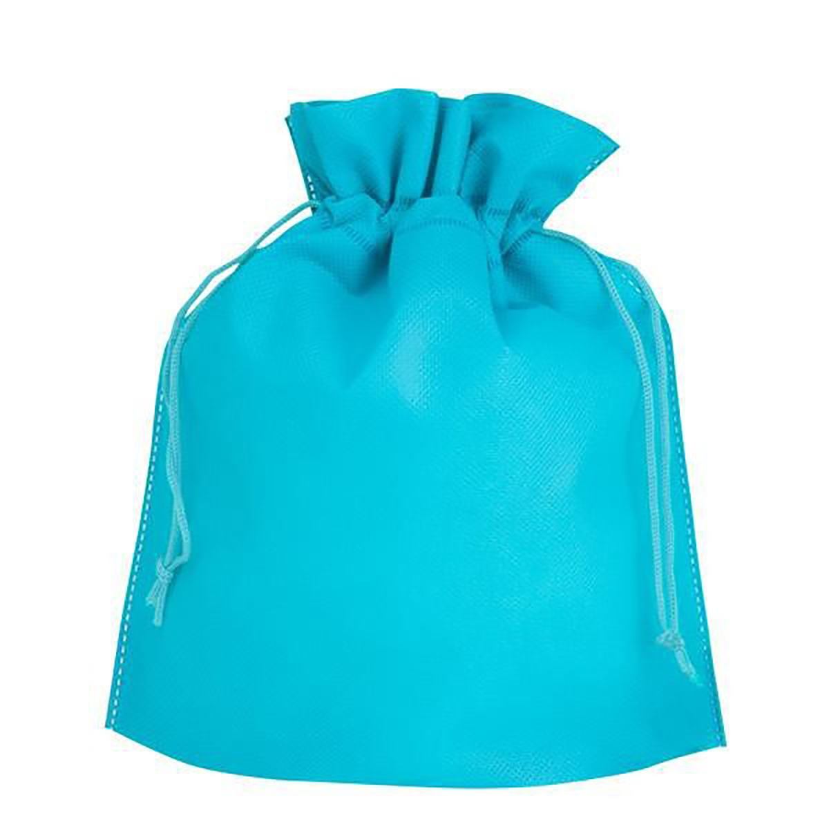 Aqua Poly Pro Cinch Gift Bag