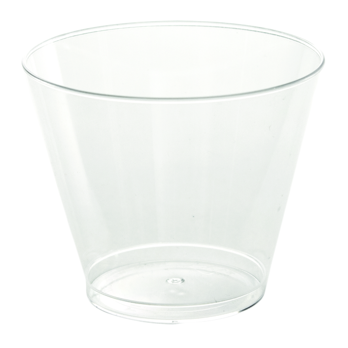 Clear Old Fashioned Tumbler Cup (9oz)