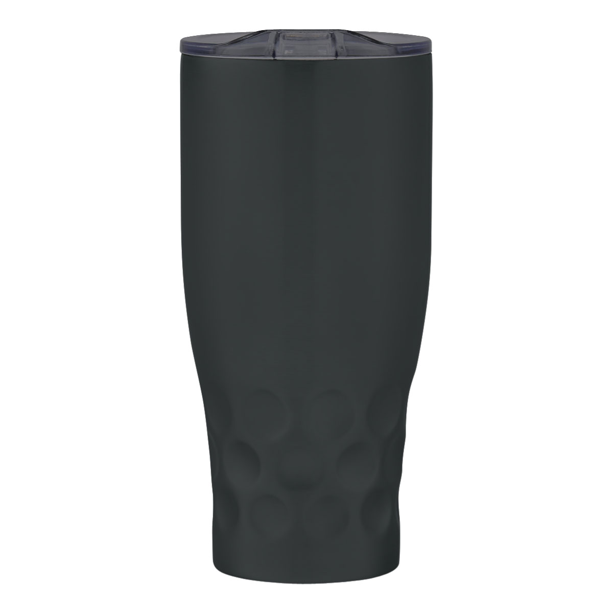 Matte Black with Charcoal Lid Himalayan Tumbler (30 oz)