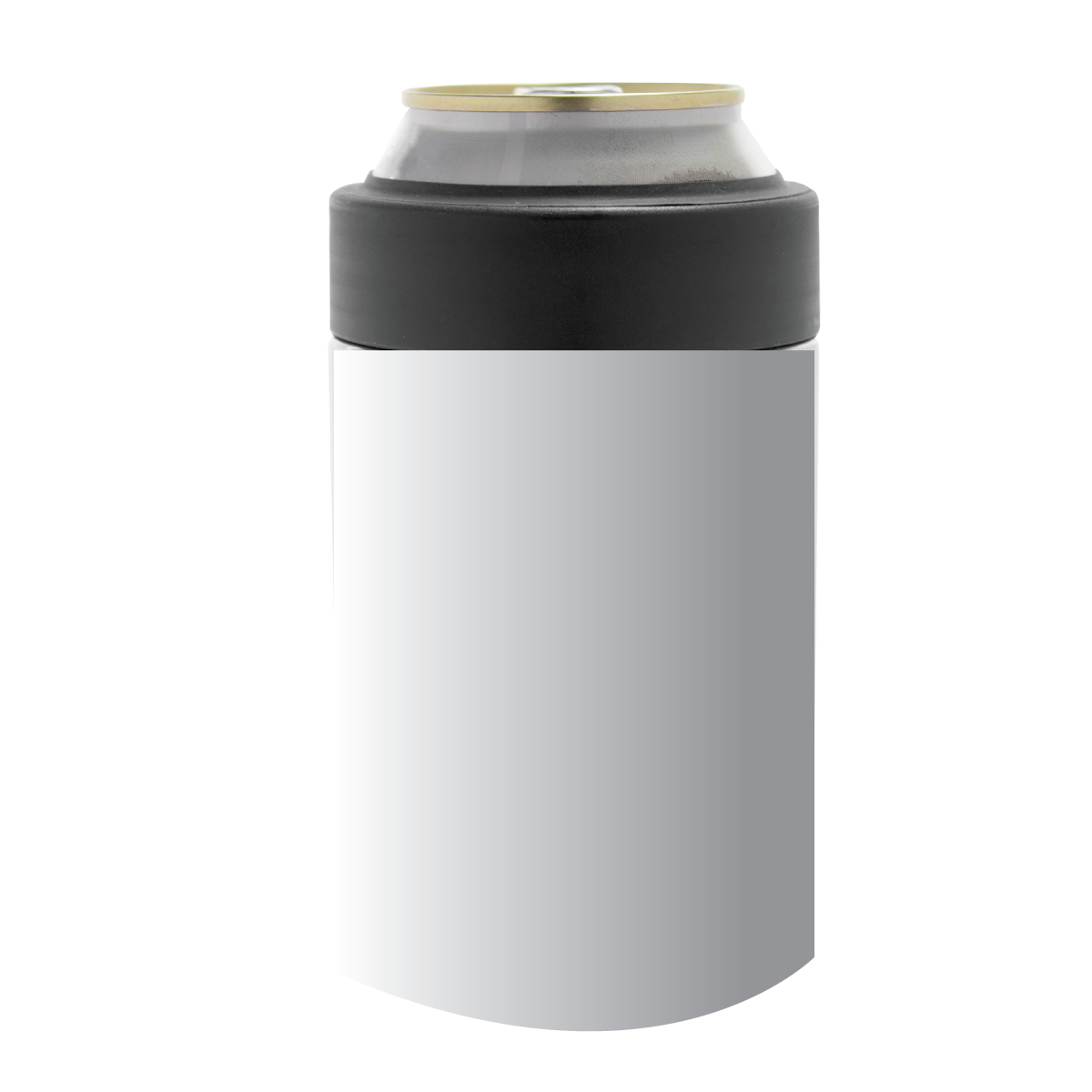 Black Kratos Double Wall Stainless Can Cooler