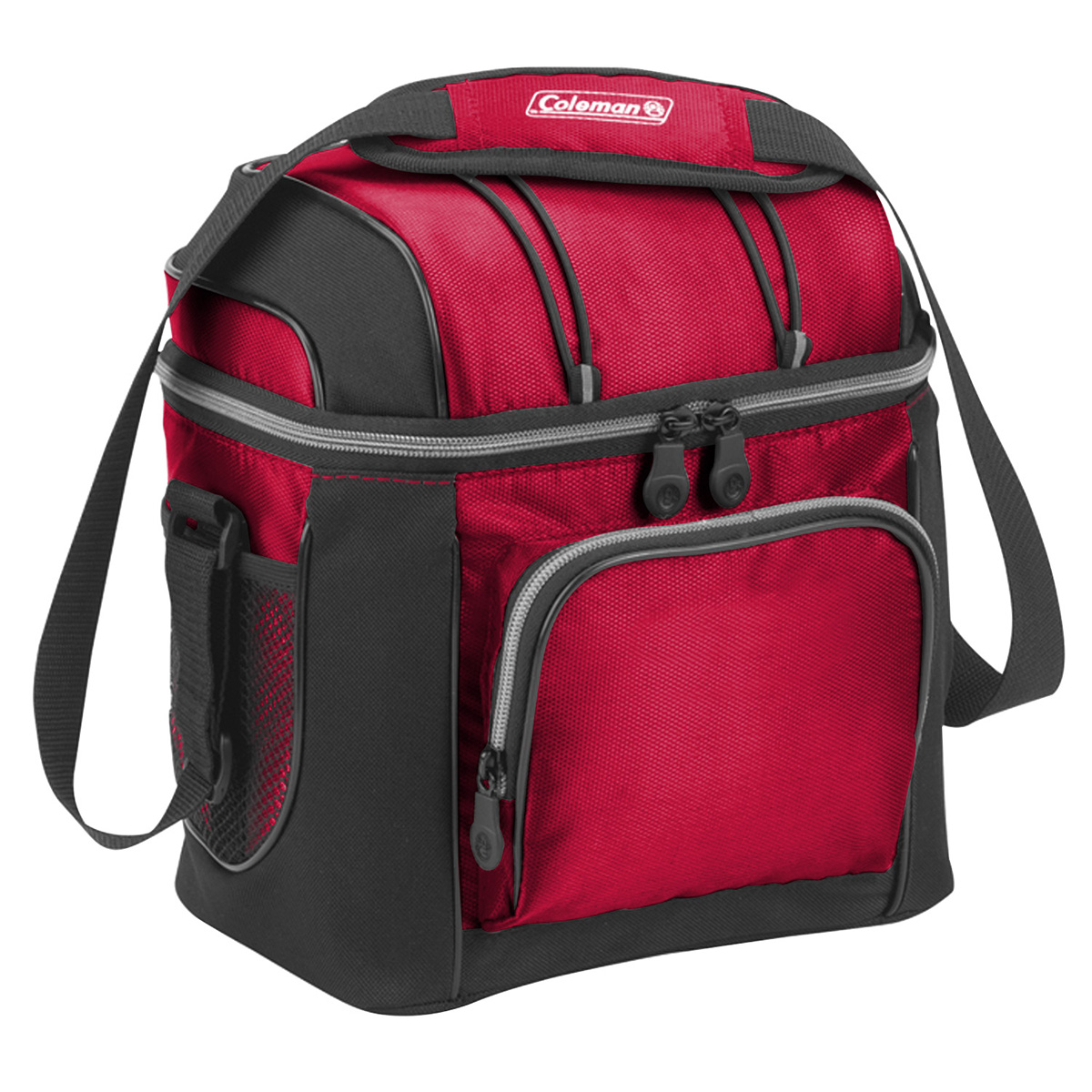 """Red Coleman® 9-Can Soft-Sided Cooler (9.25""""W x 6""""D x 10.25""""H)"""
