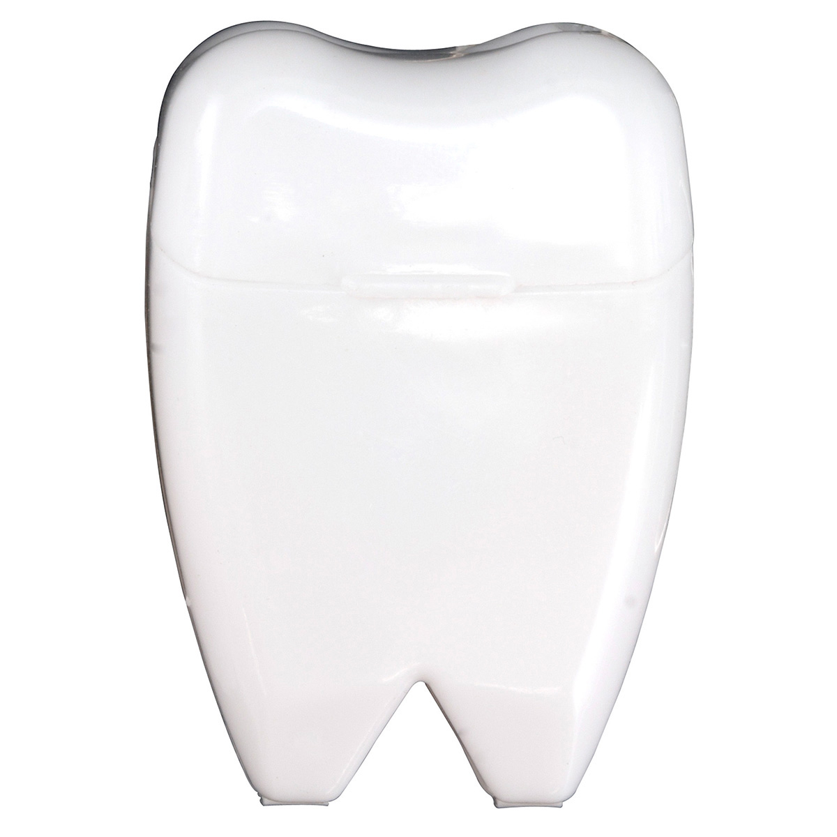White Tooth Shaped Dental Floss