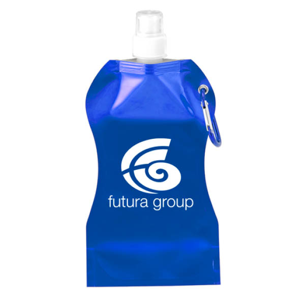 SS7033 Wave Collapsible Water Bottle_Blue image