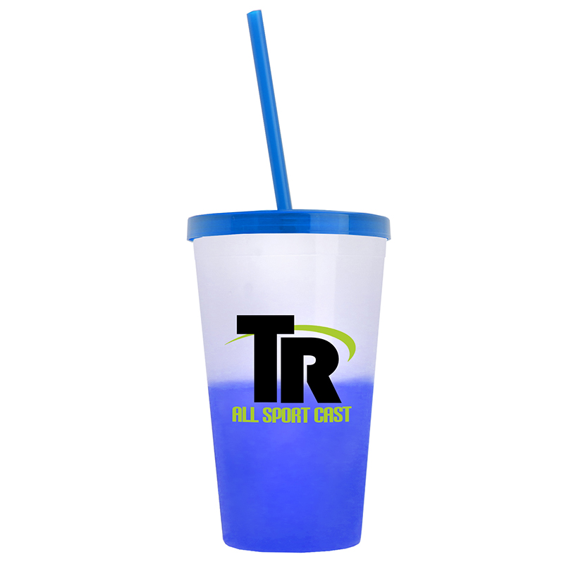 On-The-Go Cool Color Changing Tumbler (22 oz)